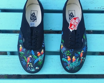 Custom Hand Painted Shoes Kid's Sizing