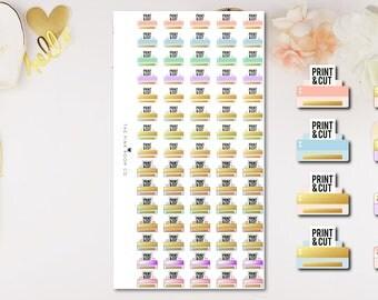 PRINT & CUT Icon Stickers