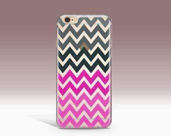iPhone 7 Case Clear iPhone 7 Plus Case Chevron iPhone 6 Case Clear, Silicone iPhone 6S Case, iPhone 6 Plus Case Clear - KT296