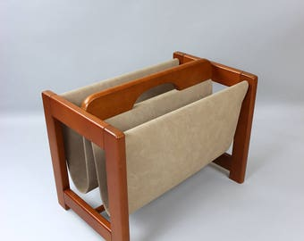 Mid century magazine racks magazine holder magazine rack Danish design