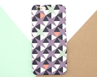 SALE / SECONDS - Geometric iPhone 6 Case // Patterned iPhone 6 hard case // iPhone cases // IPhone 6s Case