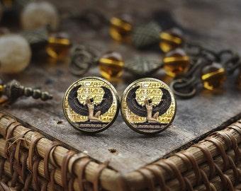 Egyptian goddess earrings, Egyptian stud earrings, ancient egypt earrings, , Egypt earrings, Egyptian jewelry