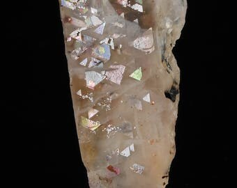 2cm RAINBOW LATTICE SUNSTONE from Australia - Rare Crystal, Sunstone Jewelry Making, Sunstone Cabochon, Sunstone Moonstone 36537