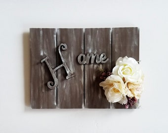 Home Pallet Sign, Wood Pallet Sign, Home Sign, Welcome Sign, Home Accent, Home Wall Accent, Wooden Sign, Rustic Decor, Country Decor