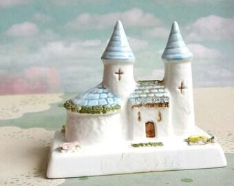 Rare Coalport The Towers Castle Miniature