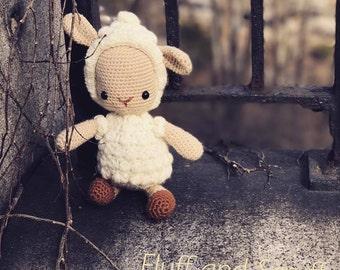 Lovable Lamb- Crochet- Amigurumi