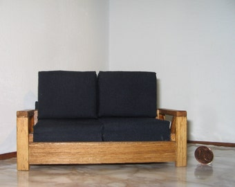 "sofa ""Night"" for dolls house"