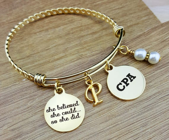 Gold CPA Gifts Graduation Gift for CPA Accountant Gift Gifts for Accountants Graduation Gift Senior Gifts Senior 2017 College Graduation