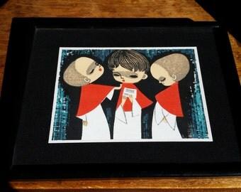 Choirboys Original Artwork
