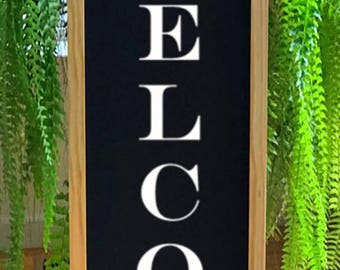 Welcome Sign - Porch Decor - Door Sign - Porch Sign - Front Door Sign - Entryway Decor - Front Porch Decor -  Rustic Welcome Sign - Deck