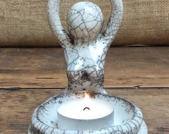 Fertility Goddess Light and Incense Holder