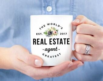 Real Estate Agent Mug, Closing Gift, Funny Real Estate Mug, Real Estate Agent Gift, Funny Closing Gift, Thank You Gift, Occupation Mug