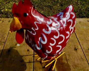 1 Red Chicken