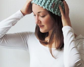 SARAH Headband (Aquamarine)