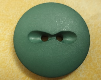 7 green BUTTONS 23mm (6696) button jacket buttons