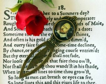 Valentine's Day Bookmark - Valentine's Gift, Shakespeare Vintage Sonnet 18 Bookmark, Romantic Gift For Book Lover, Shakespeare  Love Token