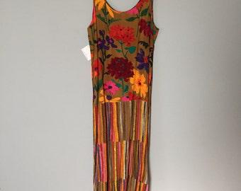 pastel maxi dress | artist drop waist dress