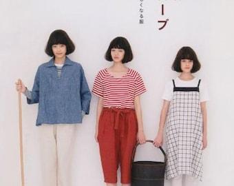 Simple Wardrobe Japanese Craft Book Sewing patterns Jacket Pants basic