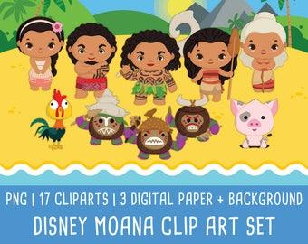 20% OFF Disney moana clipart, princess moana cli art, moana birthday, moana party, disney princess, Instant Download PNG 300 - dpi