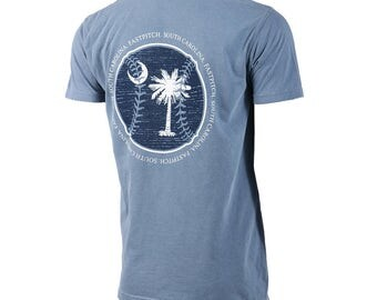 State of Mine: South Carolina Fastpitch Short Sleeve T-shirt, Softball Shirts, Softball Gifts, SC Softball - Free Shipping!