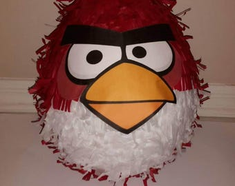 Angry Bird Piñata. Handmade. New