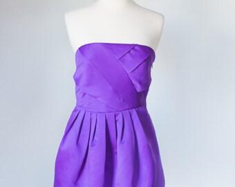Armani Exchange Purple Mini Dress
