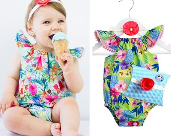 Babyshower gift, 3-part, present for the birth, baptism gift, birthday girl, baby gift set