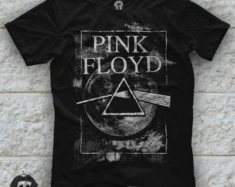 Pink Floyd The Wall Logo Unisex Black T Shirt Graphic Tee Pink floyd Men Shirt Pink Floyd Girl Shirt Size S M L XL 2XL