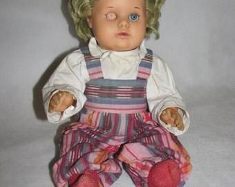 Vintage DOLL Schildkröt Germany celluloid doll retro