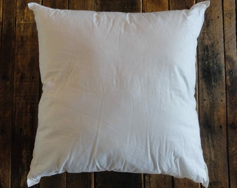 Pillow Inserts // Pillow Forms // Various Sizes // Add-On with Pillow Cover Order
