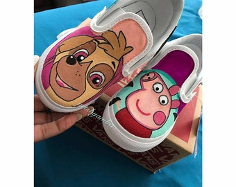 Nick Jr Custom Vans
