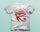 Eye of Horus -  Organic T-shirt - Vegan T-shirt -  Symbolism -  Graphic tshirt -  Men's t-shirt - Streetwear - Fashion - Cool t-shirt