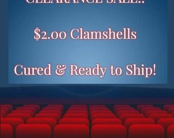 Clamshells (Approx 4 oz)