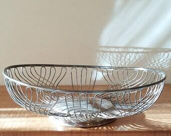 Silverplated Wire Bread Basket