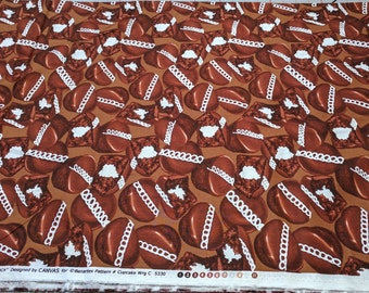 Snack Attack-Chocolate Cupcakes Cotton Fabric from Kanvas Studios