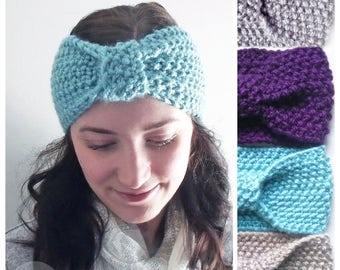 Soft & Cozy Spring Head band/Ear Warmer - Available in 4 Colours!
