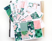 Beach Club Weekly Kit (stickers for Erin Condren Life Planner - Vertical)