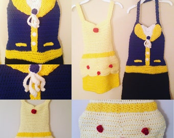 Beauty and the Beast Apron/Costume Pattern ONLY