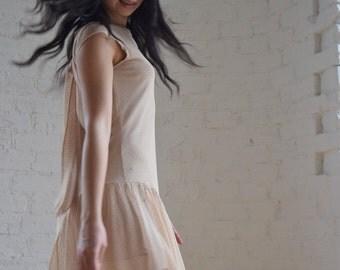 Chiffon dress // Amelie
