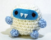 Cute Crochet Yeti Amigurumi Plush
