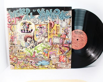 Weird Al Yankovic - Self Titled - Vintage Vinyl LP - Rock N Roll Records 1983 Record Album- American parodist- Classic Parody Record- Ricky