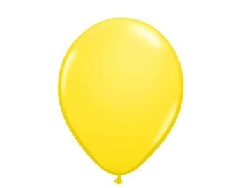Barnyard Party Yellow Balloons, Yellow Balloons, Farm Birthday Party Balloons, Barnyard Birthday Party Decorations