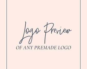 Logo Preview - Try before you buy