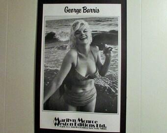 Marilyn Monroe vintage poster, printed in 1987 'Feelin' the Surf' (1962) photographed by George Barris