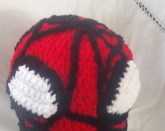 Spiderman beanie hat, beanies, super hero hats, marvel hats