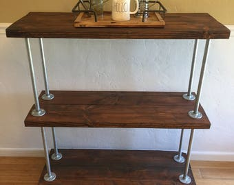 Handmade Coffee Bar Cart