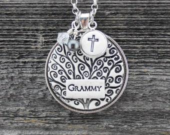 Grammy Handmade Pottery Necklace