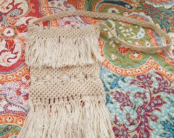 Vintage Macrame Bag