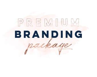 Custom Branding Kit, Brand Identity, Marketing Package, Business Branding Design, Brand Marketing Kit, Business Card, Social Media Branding