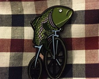 A Woman Without a Man is Like a Fish Without a Bicycle - Pin